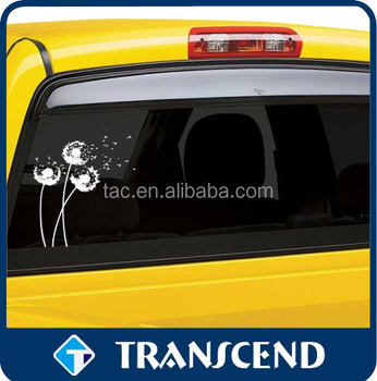 Logo printed self-adhesive vinyl window sticker/window sticker/pvc sticker
