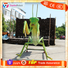 SH-RI007 Animated Garden Decoration Robot Insect Model of Mantis