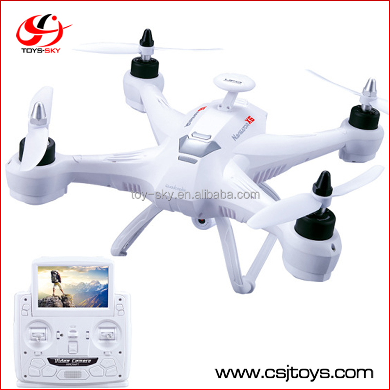 Imported toys wholesale remote control big flying toys quadcopter airplane with live camera