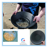 gold panning plastic, gold wash pan, plastic gold pan for river sand gold mining
