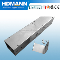 electrical galvanized trunking cable tray factory
