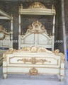 Bed Mahogany Indoor Furniture