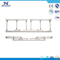 YXS-008 hospital bed side rail side mount railing collapsible bed rail