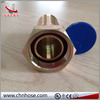 Industry Rubber straight bspt male tube fittings