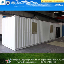 China prefab new design 40ft sea container house/modular overseas shipping container home for sale