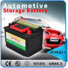 High performance 12v car auto dry charged battery, used car and truck battery for sale
