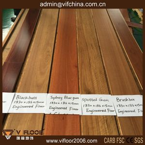 Anti-Scratch 15mm Spotted Gum Australian Timber Flooring