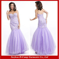 OC-2418 Sparkly beautiful evening prom dress luxury crystal beaded prom dresses for veiled girls