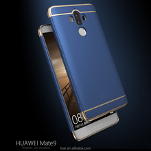 Huawei mate 9 pro Case Newest Creative Matte 3in1 Thin Back Shell Detachable Business Cover For Huawei mate9 Magic Cases