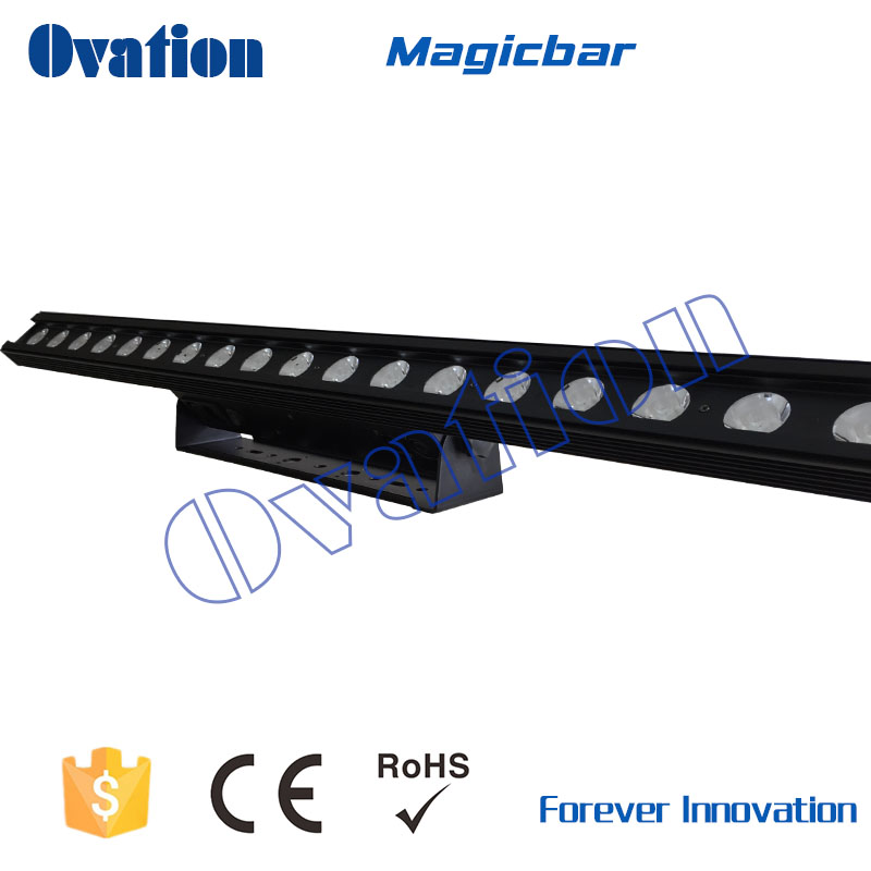 Stage Lighting 18pcs 3w Led steel light led light bar