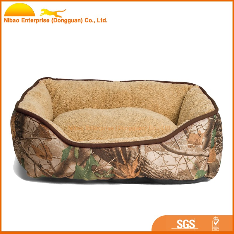 Beautiful printed cover no-slip high quality classical dog bed