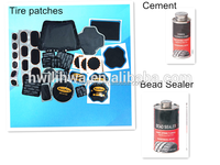 Tire repair patch/ bead sealer/cement