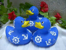 hot sale variety colorful duck type print rubber duck