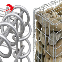 Prossional Gabion Box manufacturer supply high Galvanized Stone Cage for Retaining Wall