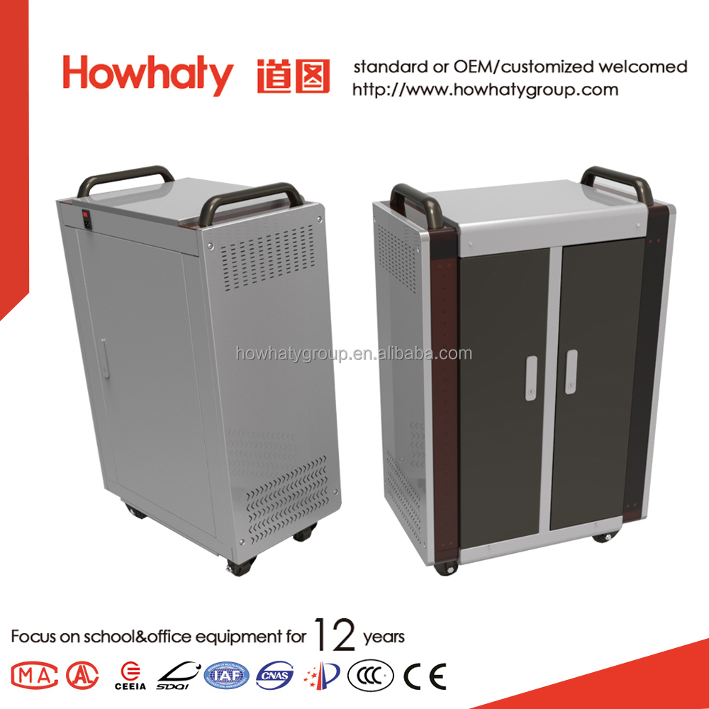 Howhaty charging cabinet for education equipment