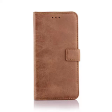 China suppliers simple retro matte folio flip wallet leather cover kutis phone case for iphone 6 iphone 6s case
