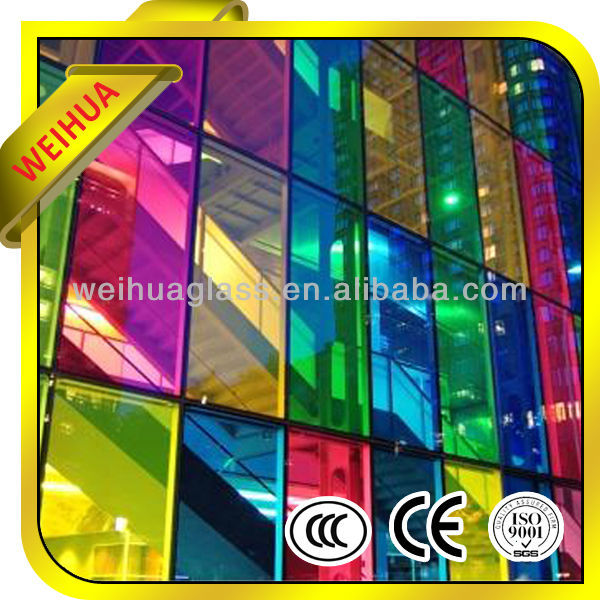 laminated decorative stair glass manufacturer
