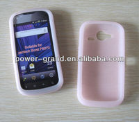 Glow in the dark silicon rubber case cover for Pantech Burst P9070, competitive price (accept Paypal, Escrow)