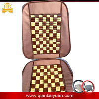 2014 summer hot selling Mahjong type bamboo automotive car seat cover & cushion