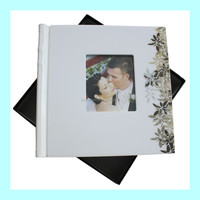 high quality ceramic cover peel and stick inner page photo album