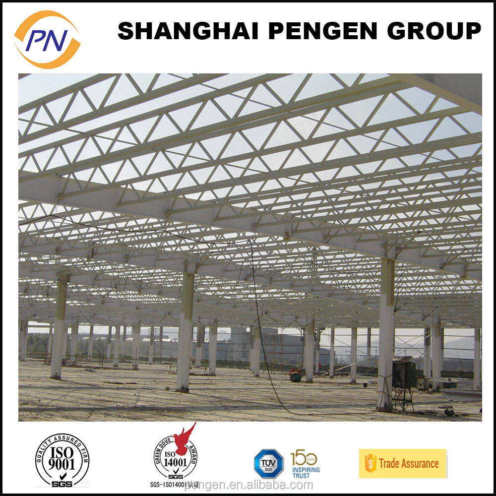 High quality steel structure H beams steel pipes workshop buildings
