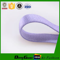 Factory Supply Soft Nylon Plush Shoulder Bra Elastic Tape