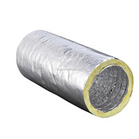 HVAC Insulated flexible duct with germany style clamp(DEC-IA)