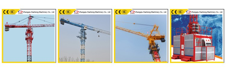 Self Erecting Topless Tower Crane QTZ50(PT5010)