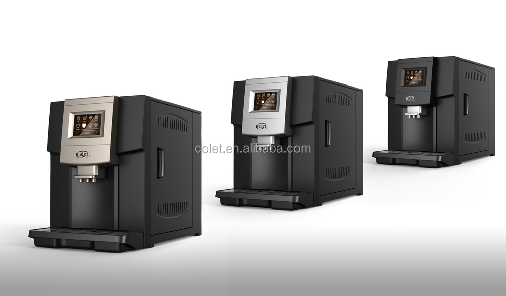 Ningbo One touch Espresso coffee machines ABS Plastic Housing Material coffee machines for offices