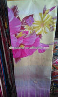 polyester bedsheet fabric export to South American
