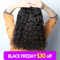 Fast delivery 100% human hair weave Brazilian water wave hair extensions