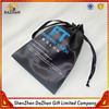Wholesale Black Hair Weave Strorage Bag Custom Satin Bag