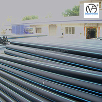 150mm hdpe pipe with pe 100 and pe 80
