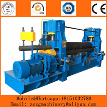 W11S sheet joint rolling machine / roller bending machine with pre-bending