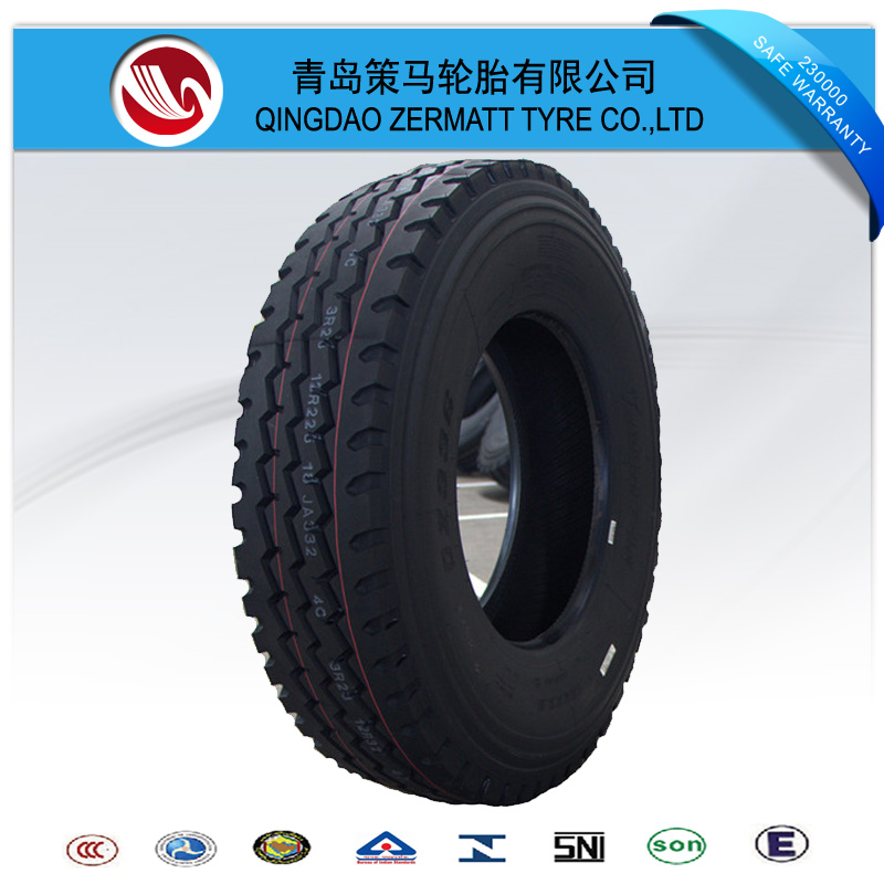kapsen tire 11R22.5 tire and wheel package
