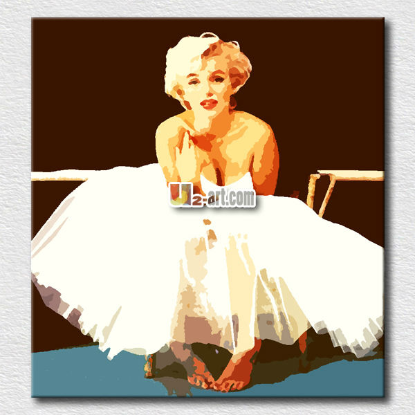 Wall hanging Marilyn monroe pop <strong>art</strong> paintings