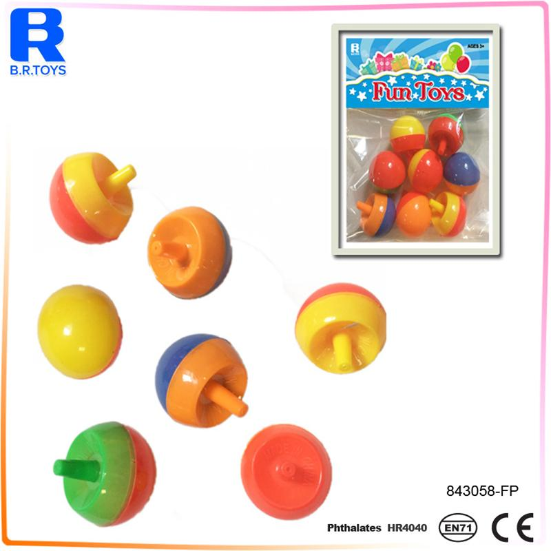 promotional pine-nuts shaped mini spin top spinning top toy