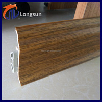 Trending hot new products home pvc accessories baseboard