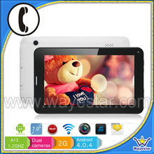 7.0 tab phones gsm sim cheap tablets pc a740 wayestar model