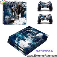 Final Fantasy XV Without Fade for PS4 Pro Skin Decal for Console and 2 Controllers YSP4P0537