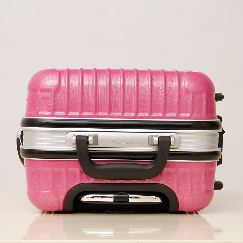 China alibaba wholesale trolley abs+pc hand travel luggage with detachable wheels