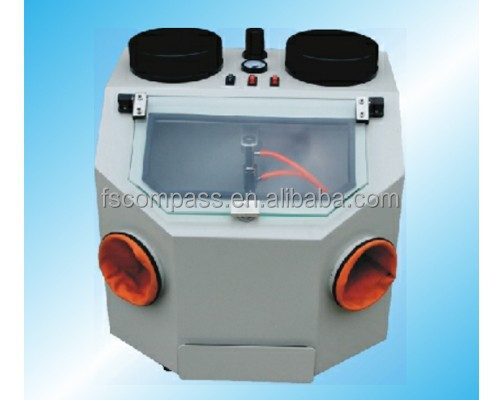 Sandblasting machine,dental lab equipment,electric lad equipment