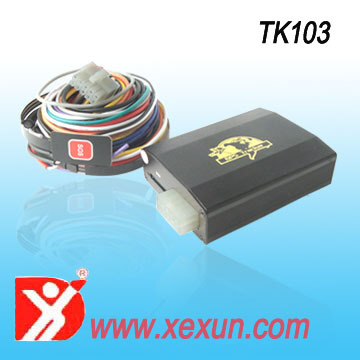 TK103 gps sms gprs tracker vehicle tracking system tracking server provided mobile app supported