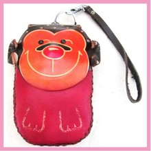 Wholesale Cute Leather Monkey Coin Purse