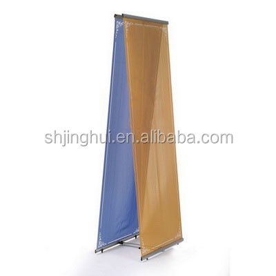 High Quality <strong>L</strong> Outdoor Retractable Banner Stand Exhibition Banner Stand <strong>L</strong> Display Stand