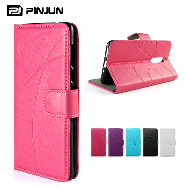 New arrival mobile phone leather case for Zte blade x , with card slots case for Zte blade x