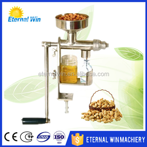 Mini hand operated oil press for Flaxseed/ hazelnut/walnut