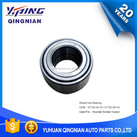 Auto Chassis Part For Hyundai , Front Wheel Hub Bearings OEM:51720-3A101