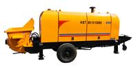 electric motor/diesel engine hydraulic trailer concrete pump