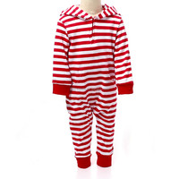 wholesale baby clothes red white strap one piece pajamas baby bodysuit